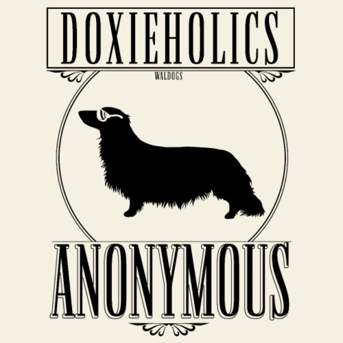 Doxieholics LH II - Miesten premium t-paita