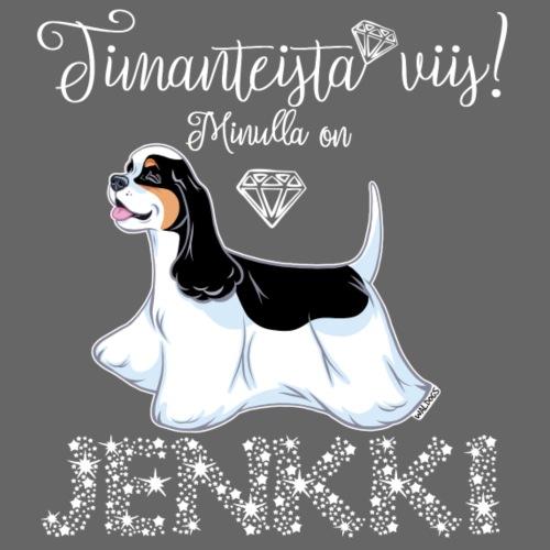 Jenkki Timantti 2 - Miesten premium t-paita