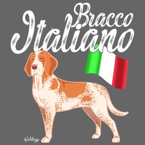Bracco Italiano Flag - Miesten premium t-paita