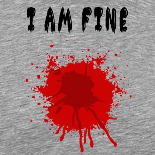Blood - Miesten premium t-paita