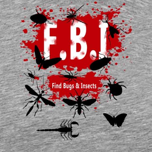 FBI - Miesten premium t-paita