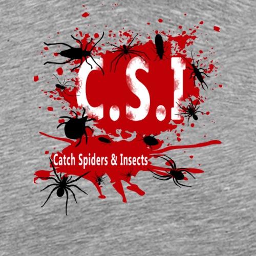 C.S.I - Miesten premium t-paita