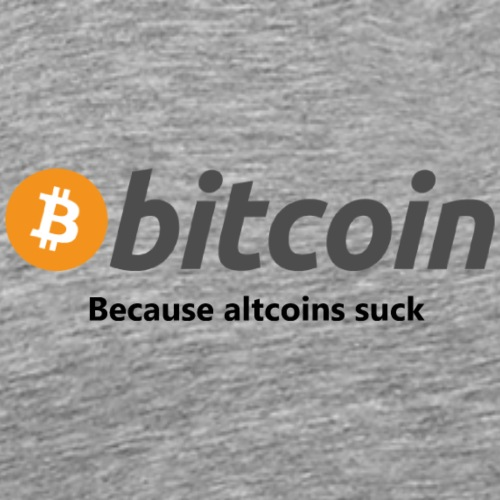 Bitcoin-altcoins-suck - Men's Premium T-Shirt