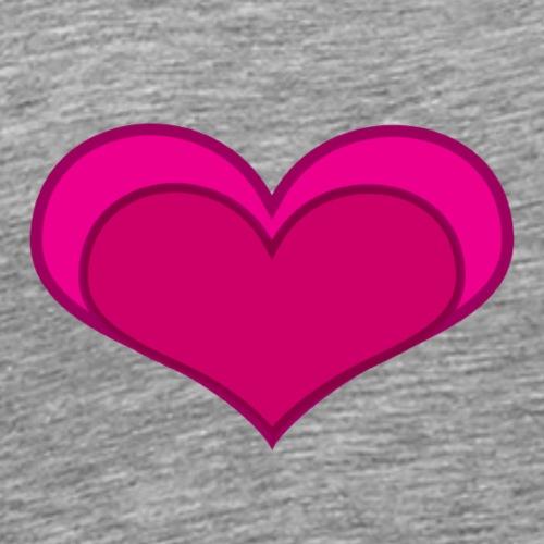heart - Mannen Premium T-shirt