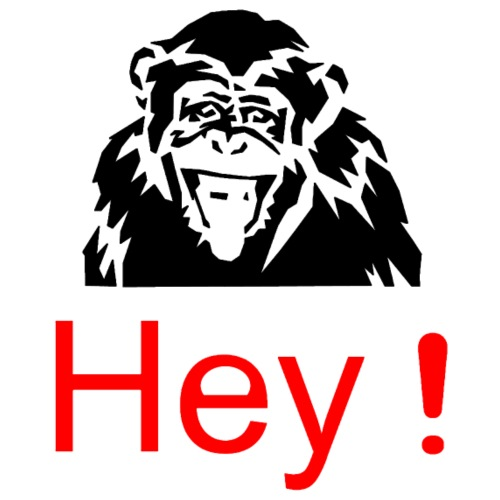 hey! monkey - T-shirt Premium Homme
