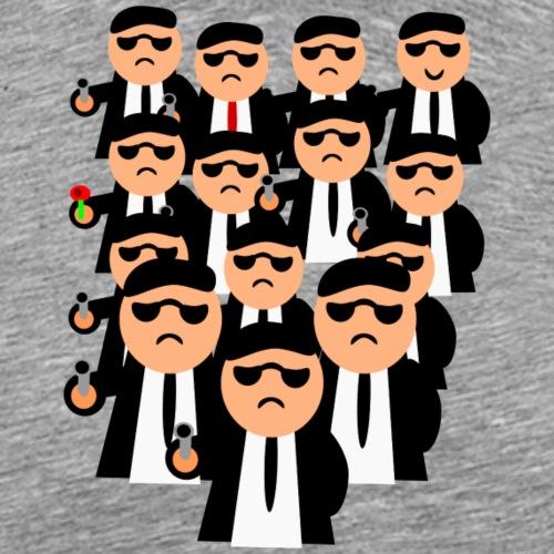 WTF MEN'S GANG - Männer Premium T-Shirt