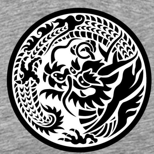 Japanese motif Dragon - Ryu - Men's Premium T-Shirt