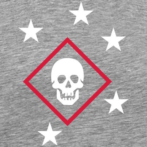 Marine Skull Raider - Maglietta Premium da uomo