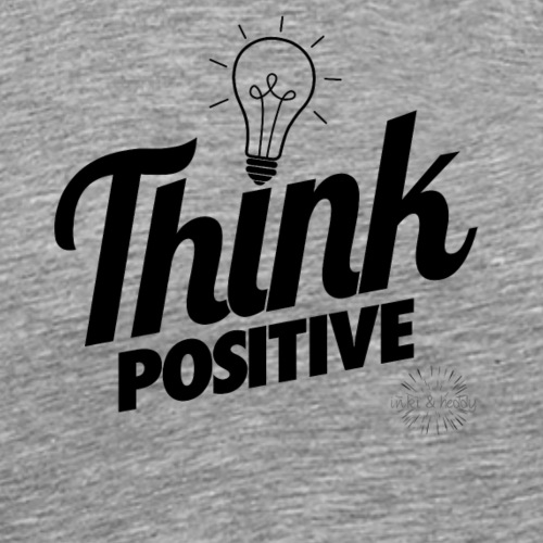 Think positive_2 - Männer Premium T-Shirt