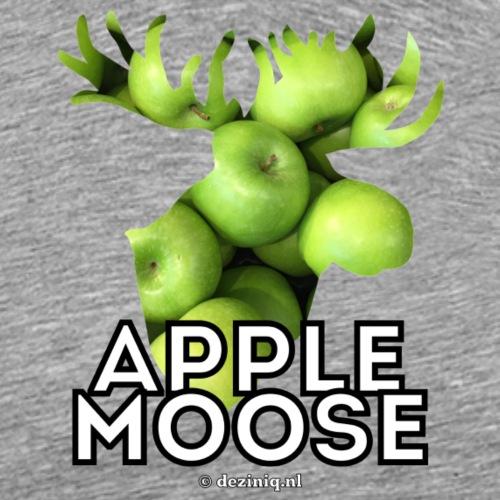 Appelmoes of Apple Moose? - Mannen Premium T-shirt