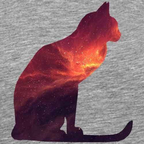 Red galaxy - Men's Premium T-Shirt