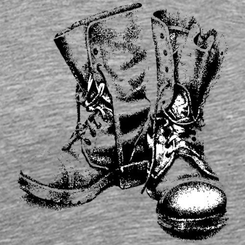 boots - Mannen Premium T-shirt