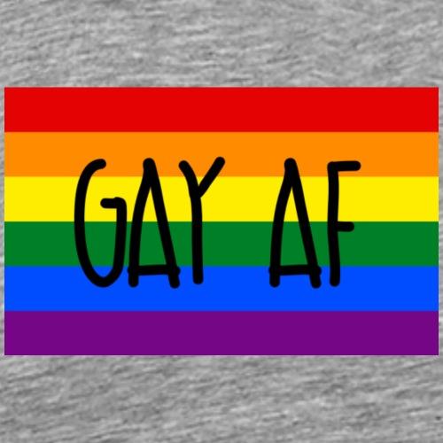 gay af - Männer Premium T-Shirt