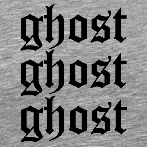 ghost ghost ghost - Männer Premium T-Shirt