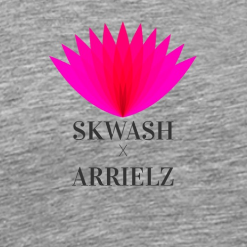 Colab with Arrielz logo - Men's Premium T-Shirt