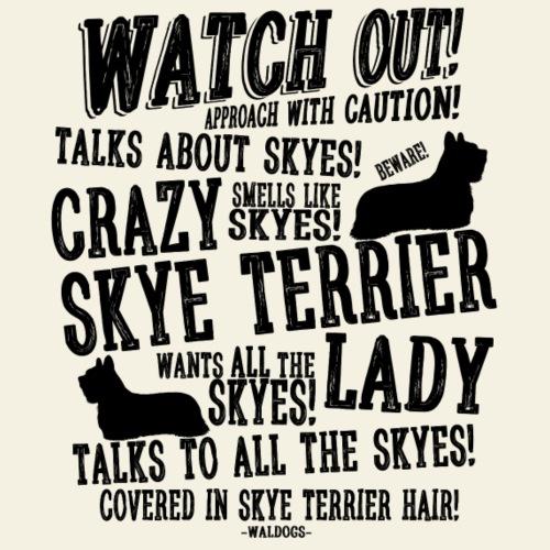 Watch Out! Skye B - Miesten premium t-paita