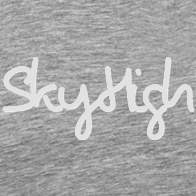 SkyHigh - Men's T-Shirt - Gray Lettering