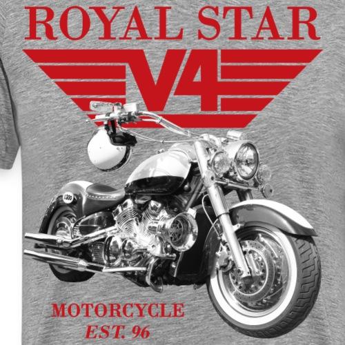 Royal Star Wings 3 rot - Männer Premium T-Shirt