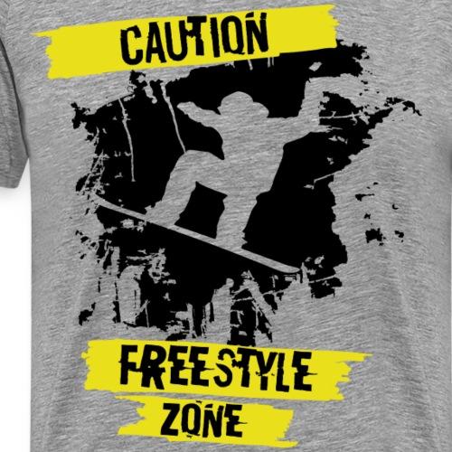Free style zone - Koszulka męska Premium