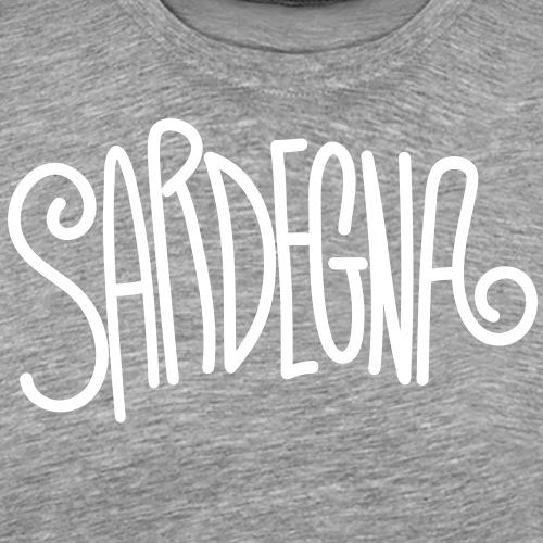 Sardegna Calligrafica - Maglietta Premium da uomo