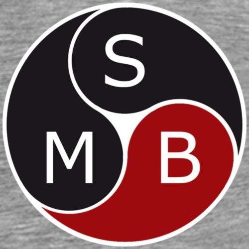 2017 SMB orginal transparent - Premium T-skjorte for menn