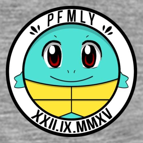 PFMLY NEU T-Shirts LOGO hinten - Männer Premium T-Shirt