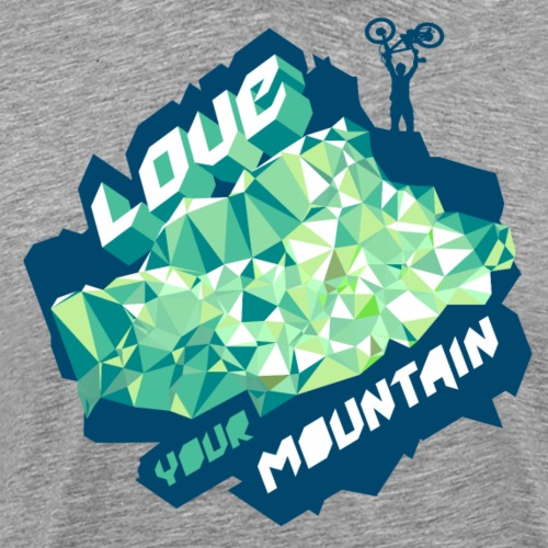 Conquer The Mountain - Men's Premium T-Shirt