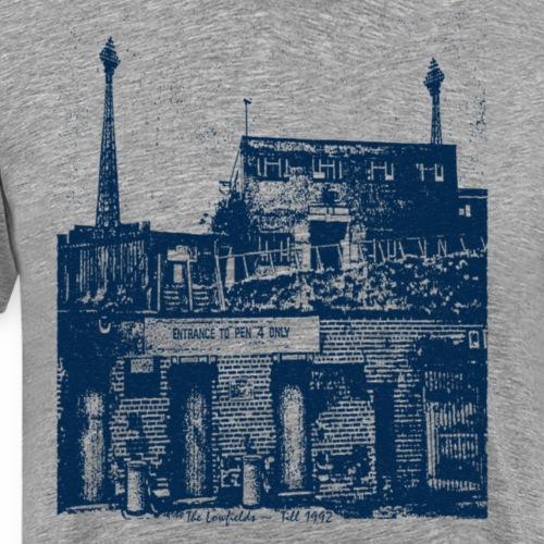 lowfieldsblue002 - Men's Premium T-Shirt