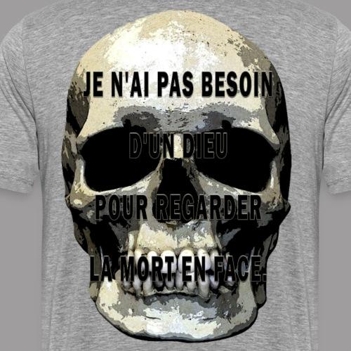 dieu et mort - T-shirt Premium Homme