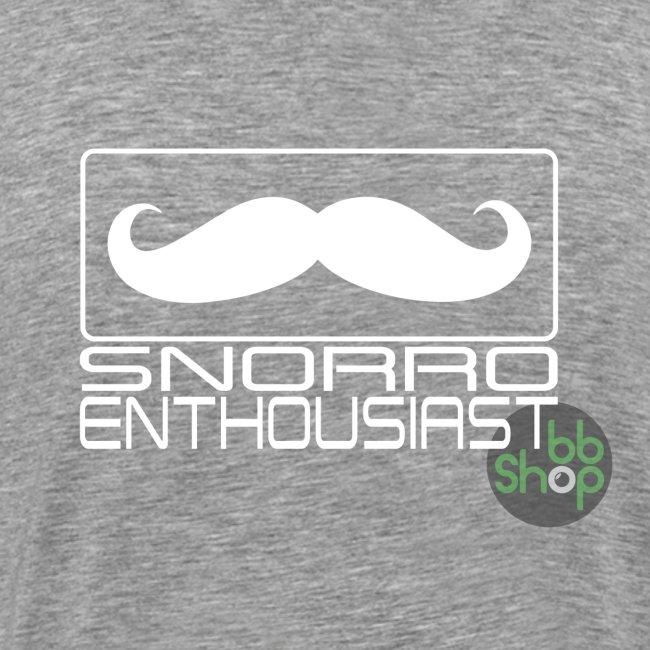 Snorro enthusiastic (white)