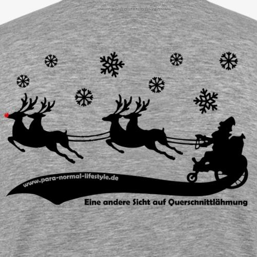 Weihnachtsmann black - Männer Premium T-Shirt