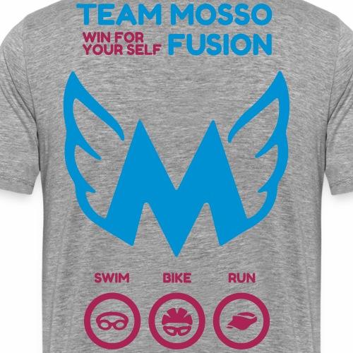 Team Mosso - Maglietta Premium da uomo