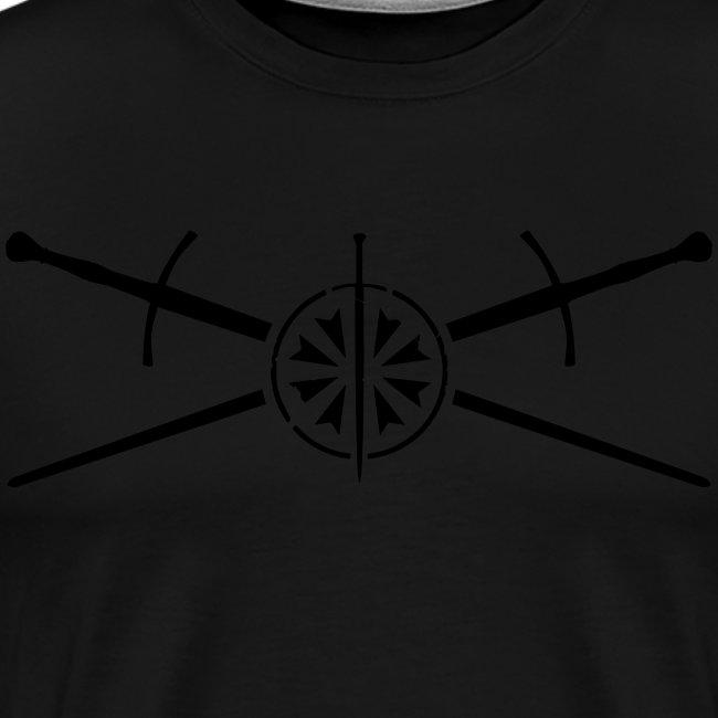 Cap-gekreuzte Schwerter-0