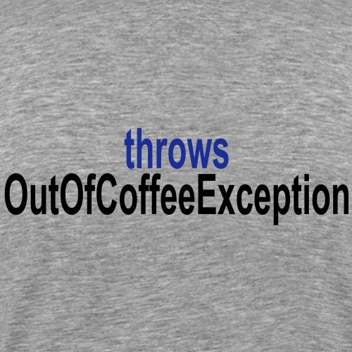 Java Kaffee - Männer Premium T-Shirt