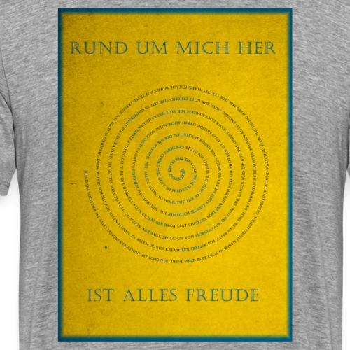 Biberacher Schützenfestlied zum Mitsingen - Männer Premium T-Shirt