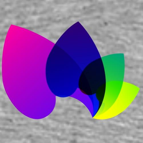 ColorVibrance Logo - Männer Premium T-Shirt