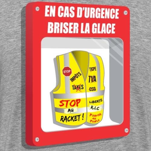 En cas d'urgence : Gilet Jaune - T-shirt Premium Homme