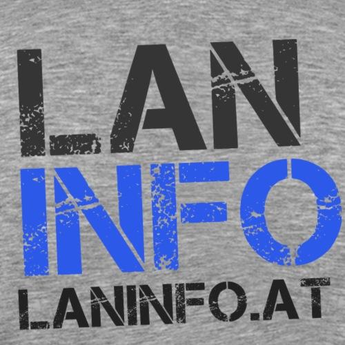 LANinfo Dark - Männer Premium T-Shirt