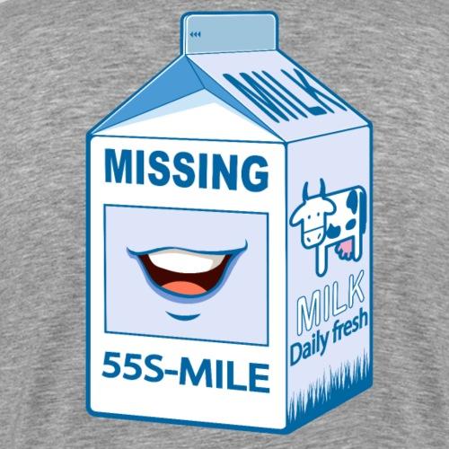 Missing : Smile - T-shirt Premium Homme