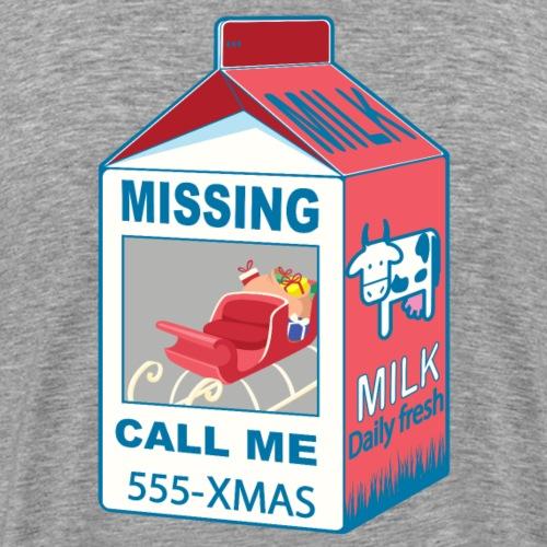 Missing: Santa's sleigh - Santa Claus - Men's Premium T-Shirt