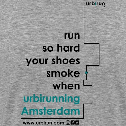 urbirun amsterdam - T-shirt Premium Homme