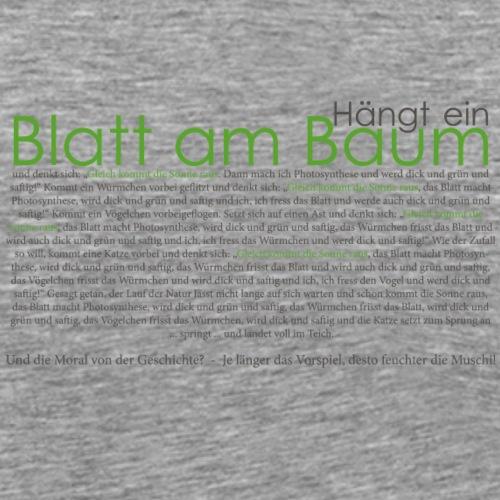 gleich-kommt-die-Sonne-gr - Männer Premium T-Shirt
