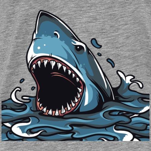Shark Attack - Men's Premium T-Shirt