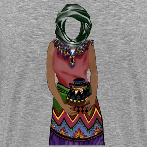 Femme avec jare - T-shirt Premium Homme