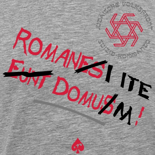 Volksfront (3col) - Männer Premium T-Shirt