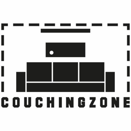Couchingzone schwarz - Männer Premium T-Shirt