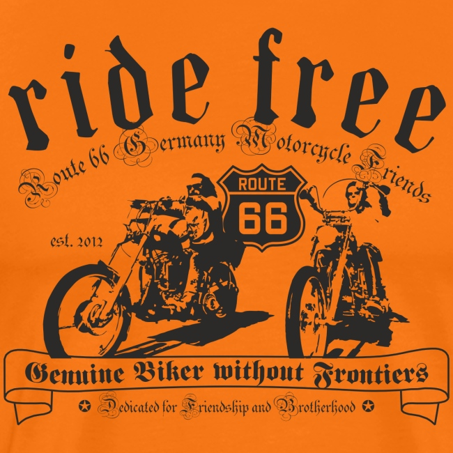 Route66 Motorcycle Friends (2 Prints)
