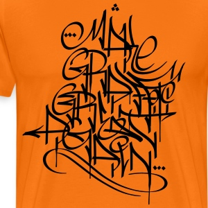 Göra Graffiti Great Again - Premium-T-shirt herr