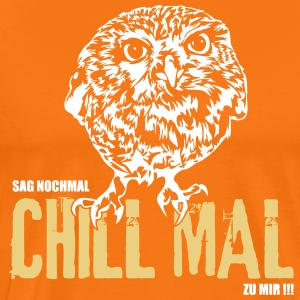 SAG AGAIN CHILL MAL TO ME - fogy - Men's Premium T-Shirt
