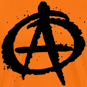 Anarchy - Herre premium T-shirt
